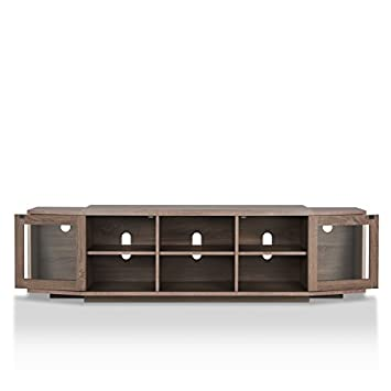 247SHOPATHOME HFW-1781C13 Miya TV Stand, One Size, Chestnut