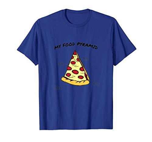 food pyramid pizza shirt - 5