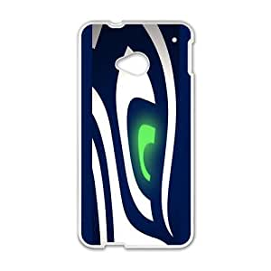 Abstract Seattle Seahawks Eye Case For Iphone 5/5S Cover (Laster Technology)