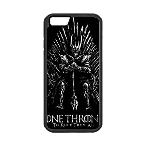 Popular And Durable Designed TPU Case with Game of Thrones iPhone 6 4.7 Inch Cell Phone Case Black