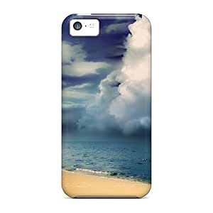 Faddish Phone Amazing Earth Water Sky Hdr Case For Iphone 5c / Perfect Case Cover