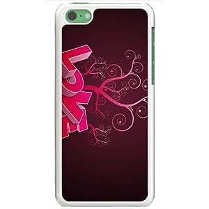 Apple iPhone 5C Case EMO Love love in pink Love White