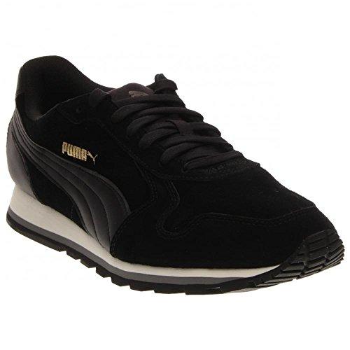 Puma ST Runner SD (Black/Black) Men's Skate Shoes-12
