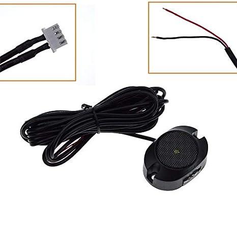 BEESCLOVER zumbador de Sensor de estacionamiento electromagn/ético con Interruptor sin Necesidad de Agujeros Sensor de estacionamiento para Coche electromagn/ético sin Necesidad de taladrar
