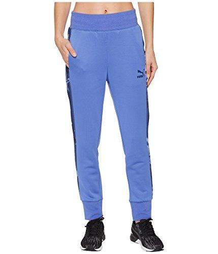 PUMA Women's Archive T7 Track Pants Baja Blue Small
