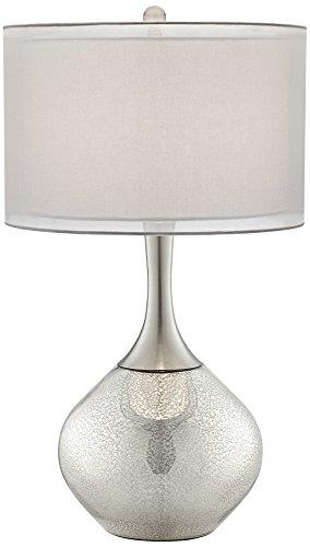 Great Possini Euro Design Swift Modern Mercury Glass Table Lamp     Amazon.com
