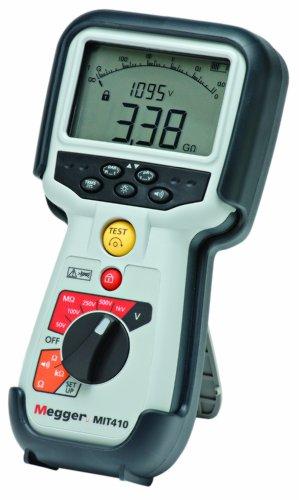 Megger MIT410-EN Insulation Tester, 100 Gigaohms Resistan...