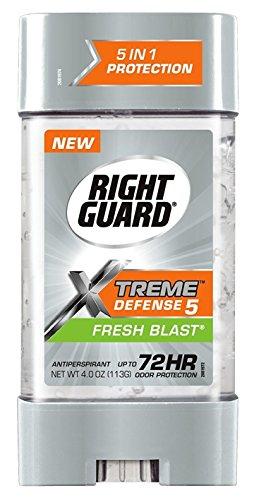 Power Gel Blasts - Right Guard Total Defense Anti-Perspirant Deodorant Power Gel Fresh Blast 4 oz (Pack of 3)