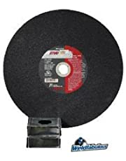 United Abrasives- SAIT 24035 Type 1 10 by 3/32 by 5/8 Stud King Chop Saw Cutting Wheel