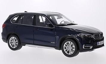 Bmw X5 F15 Metallic Blue Model Car Ready Made Paragon 1 18 Amazon De Spielzeug