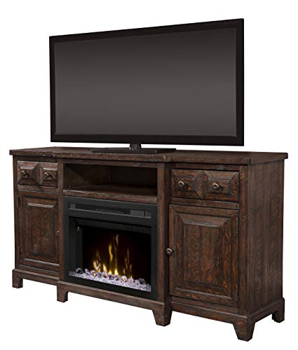 Cheap DIMPLEX Heinrich Media Console Electric Fireplace with Acrylic Ember Bed Black Friday & Cyber Monday 2019