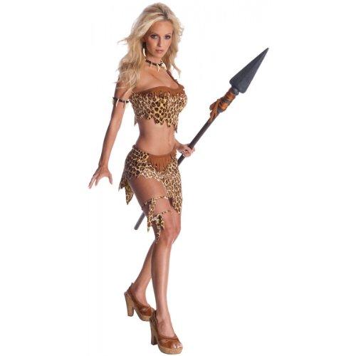 Secret Wishes Womens Tarzan Jungle Jane Costume, Leopard, (Jane And Tarzan Costume)