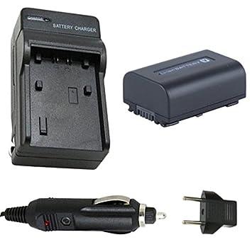 Batería y Cargador para Sony HDR-PJ200, HDR-PJ220 ...