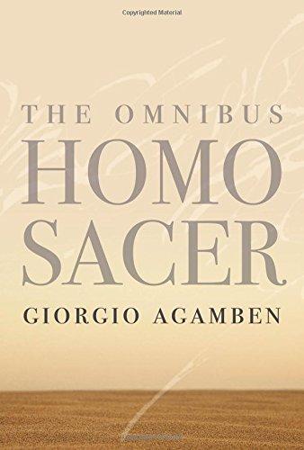 The Omnibus Homo Sacer (Meridian: Crossing Aesthetics)