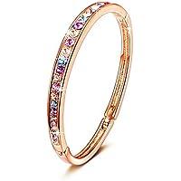 Brilla Gold-Plated Swarovski Crystal Bracelet