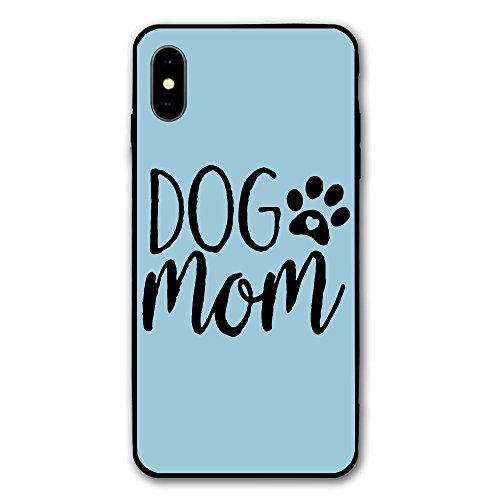 Dog Mom Letters Print Print IPhone X Case,Case For Apple IPhone X 2017 Release 5.8 Inch ()