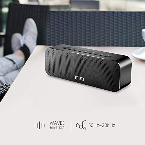 Bluetooth Speakers Loud 24-Hour Playtime, MIFA A20 Portable True Wireless Stereo TWS Speaker Soundbox Rich Bass and 3D DSP Sound