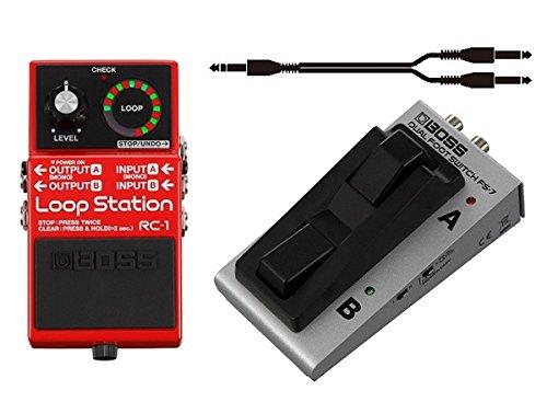 【フットスイッチ/FS-7+接続ケーブル付】BOSS/ボス RC-1/Loop Station もう迷わせない。 ルーパー はじめるならBOSS   B00RSP2CFG