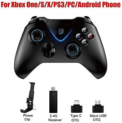 DMMW ASDQ 2.4G Bluetooth Gamepad Controller inalámbrico, para Xbox ...