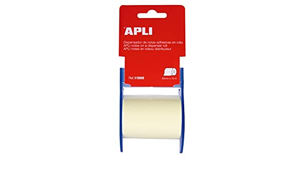 Amazon.com : Apli-Agipa 48800 Notes Repositionable Adhesive Dispenser Plastic Blade 60 mm x 10 m Assorted Colours : Office Products