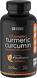 Image of the product Turmeric Curcumin C3 that is listed on the catalogue brand of Sports Research.