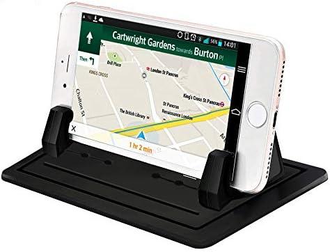 [スポンサー プロダクト]スマホホルダー シリコン製スマホ車載ホルダー GPS用クリップホルダー 滑り止め スマホスタンド 水洗い可 ダッシュボード/卓上など適用 iPhone・Android 各種スマートフォン インチまで多機種対応 GPS ナビ用 車載ホルダー