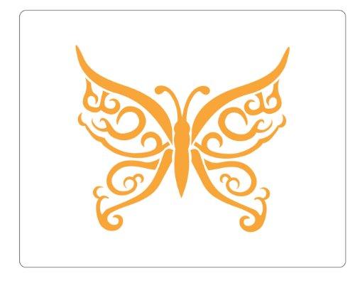 Faux Like a Pro Celtic Butterfly Stencil, 5.5 by 7-Inch, Single - Celtic Tattoos Butterfly