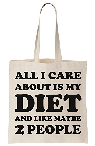 Like Tote Diet And People 2 Maybe I Is All Bag Care About My Canvas S0nZqY