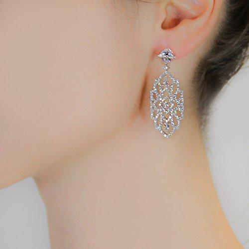 Carat London - Boucles d'oreilles Femme en Argent