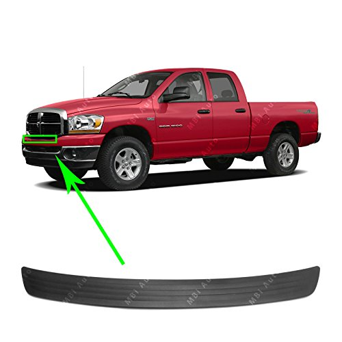 MBI AUTO - Textured, Black Front Bumper Upper Top Step Pad for 2006-2009 Dodge Ram 06-09, CH1019103