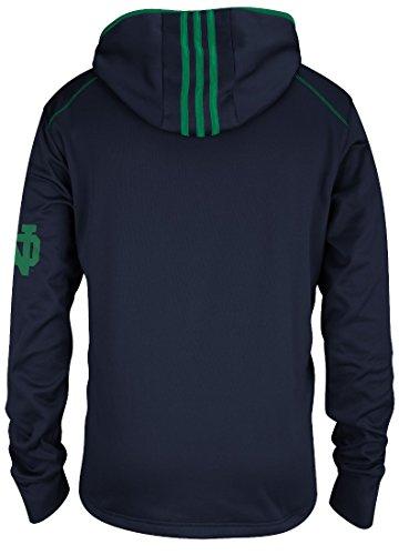 Notre Dame Fighting Irish Adidas 2014 Pullover Hooded Performance Sweatshirt