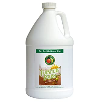 Earth Friendly Products Proline PL9731/04 Furniture Polish and Conditioner, 1 gallon Bottles (Case of 4)