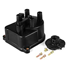 XCSOURCE Ignition Distributor Cap 30102P54006 + Rotor 30103P08003 Replacement Assembly Kit for Honda Civic 1992-1995, 1996-2000 MA971