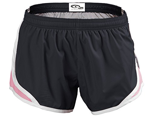 Emc Pink Sports soft Momentum Shorts Black nn1ZTq4g