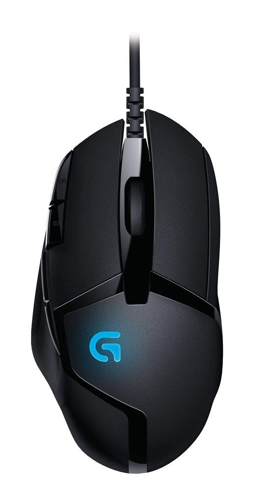 Logitech G402 Hyperion Fury Ultra Fast FPS Gaming Mouse (Black) product image