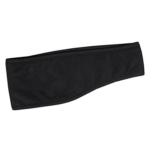 Black Polar Fleece Headband with Ear (Best Army Universe Headbands)