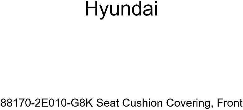 Front Genuine Hyundai 88170-2E010-G8K Seat Cushion Covering