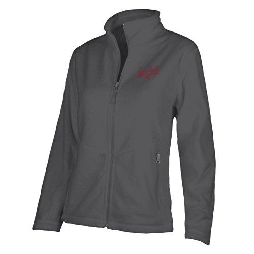NCAA - Chaqueta Luxe para mujer, color Gris oscuro, talla L