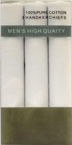 Boxed Fancy 3pc. Men's Cotton Handkerchiefs