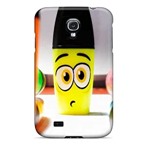 Tpu Shockproof/dirt-proof Funny Markers Cover Case For Galaxy(s4)