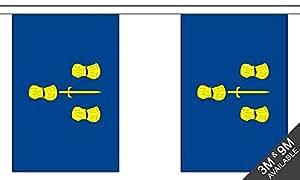 The Flag B052830 Wholesaler - Banderines de cheshire, multicolor, 24 x 1 x 23 cm