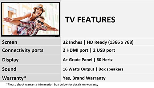 Sanyo 80 cm (32 Inches) HD Ready LED TV XT-32S7201H (Black) 4