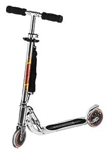 Hudora 14600 Big Wheel - Patinete, color plateado