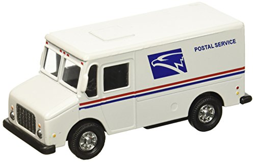USPS United States Postal Service White Delivery Truck 1/43 Scale Mail Truck (Delivery 1)