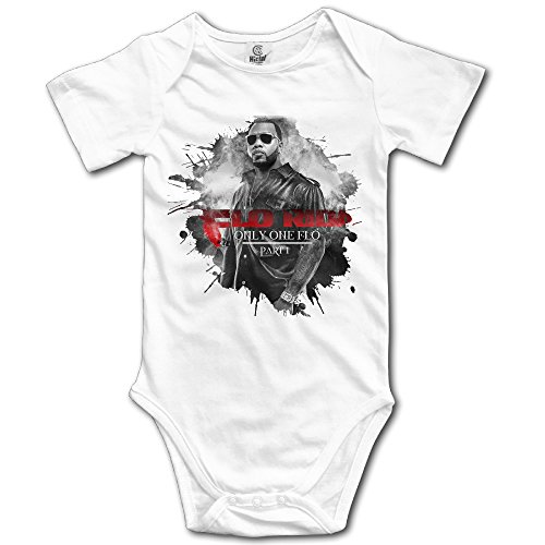 Oulike Flo Rida Poster Baby Climbing Clothes Bodysuit