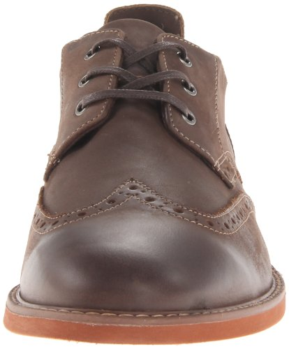 Florsheim Heren Hi Fi Wing Oxford Brown Crazy Horse