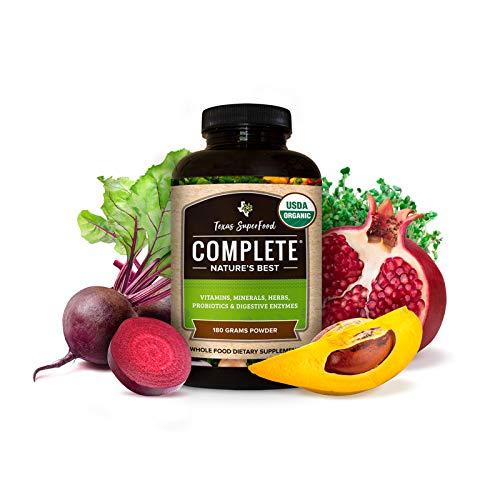 Amazon Com Texas Superfood Complete Organic Powder Organic Fruits