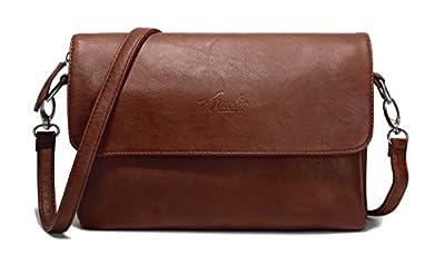 AMELIE GALANTI Small Crossbody Bags for Women Shoulder Bag Multi-Pocket