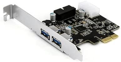 CSL - Controlador PCI Express PCIe USB 3.0-2 externos Puertos 1 Interno Controlador Conector - Tarjeta de Interfaz USB 3.0 Super Speed - hub USB ...