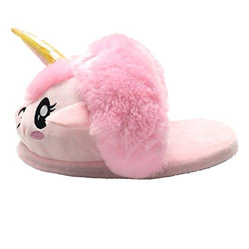 Animal 36 novità felpa Inverno Rosa Unicorno Scarpe Pantofole 42 Pantofole Caldo Design 8xFwqCXY